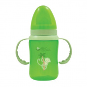 Green Sprouts, Trainer Bottle, Stage 3/4, Green, 8 oz