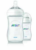 Avent Natural 2 Baby Bottles 260ml 1 Month +