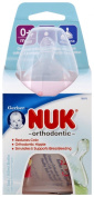 NUK Orthodontic Silicone BPA Free Nipple Bottle, 150ml, Single Pack, Colours May Vary