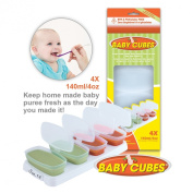 Baby Cubes 140ml Stage 3 Storage Container