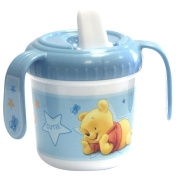 "Disney 33885 Cup with Spout ""Winnie the Pooh"" Theme Blue"