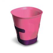 Plastorex 80 8482 A4 Child's Beaker Dual-Material Fuchsia / Purple
