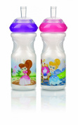 Nuby Emotion Sport-Sipper ID1230 Non-Spill Drinking Cup 300 ml with Different Patterns and Variable Liquid Flow Bisphenol A-Free Colour Cannot Be Chosen
