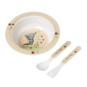 Me To You Tiny Tatty Teddy Melamine Bowl and Cutlery Set