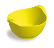 Plastorex 8608 07 Baby Bowl with Handles Melamine Yellow