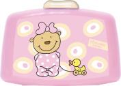 p:os 66030 Bread Tin Pitzelpatz Baby Meteor Polypropylene Pink