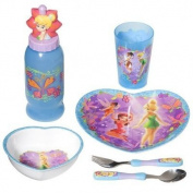Zak Designs Disney Faries 6 Piece Mealtime Set