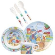 Emma Ball Pirates 6 piece feeding set for babies