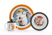 Moomin - Children's Dinnerware set -comics- 3 pcs. - Gift set (Rätt Start) [6921]