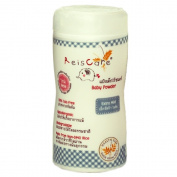 Talc Free Baby Powder Natural Non-GMO Rice Starch Acne Talcumfree Biodegradable Nature Dusting Non Talc Reiscare