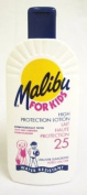 Malibu Sun Tan Lotion For Kids High Protection SPF 25 Water Resistant