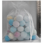 50x Chill Pill Bath Bombs in Gift Bag - Mixed Fragrances.