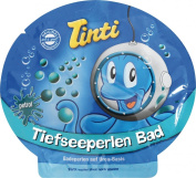Petrol Blue Coloured Pearls Bath Salts 80g - TINTI Tiefseeperlen Bad