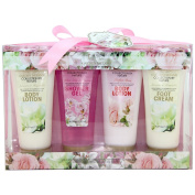 Gloss! - Bath Gift Set Garden Dreams - Rose, Lily & Freesia, Jasmine & Magnolia