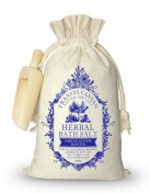Herbal Bath Salt for Immune System Boosting 800g - 100% Natural - Special herbal bath salt ideal for relaxing and maintaining our health - Artisan product