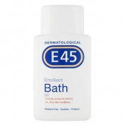 E45 250ml Dermatological Emollient Bath Oil