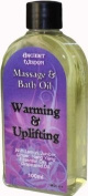 Aromatherapy Warming & Uplifting Massage & Bath Oil 100ml