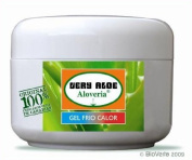 ALOVERIA® SPORTGEL FRIO/CALOR - sportgel with refrehing Orobal und Aloe Vera of ecological plantation of Canary Islands. 100ml
