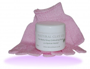 Apricot exfoliating body paste & Body scrub gloves