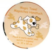 Magic Towel Puppy Expanding Face Cloth