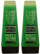 2x Original Source Mint & Tea Tree Packed With Essential Oils Shower 250ml