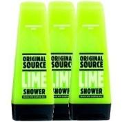 Original Source Lime Shower Gel Triple Pack