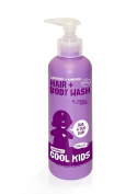 Naturally Cool Kids Double Bubble 2-In-1 Hair and Body Wash 250ml