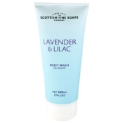 Scottish Fine Soaps Lavender and Lilac Body Wash Shower Gel 200ml