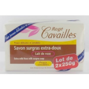 Rogé Cavaillès Extra-Mild Superfatted Soap Rose Milk 2 x 250g