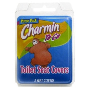 Charmin To Go Toilet Seat Covers 5-Count