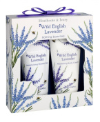 Heathcote & Ivory Florals Wild English Lavender Bathing Essentials Set