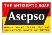 Asepso Soap 90g The Antiseptic Soap X2