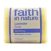 Faith In Nature Lavender Pure Veg Soap 100G