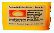 Handmade Natural Patchouli Soap Bar - Range No.1 - Acne, Acne Scar and Stretch Mark Removal and Relief, Anti Dandruff - 35g - Sample/Travel Size