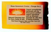 Handmade Natural Rose Geranium Soap Bar - Range No.2 - Acne, Eczema, Psoriasis, Itchy Skin, PMT and Hormone Imbalance Relief - 35g - Sample/Travel Size
