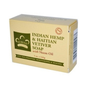 Nubian Heritage Indian Hemp Bar Soap, Indian Hemp 150ml