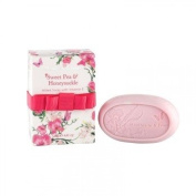 Heathcote & Ivory Florals Sweet Pea & Honeysuckle Triple Milled Soap With Vitamin E