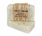 Natural Handmade Nettle, Tea Tree & Rosemary Soap