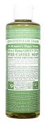 Dr Bronner Organic Green Tea Castile Liquid Soap 237ml