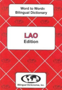 English-Lao & Lao-English Word-to-Word Dictionary
