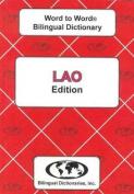 English-Lao & Lao-English Word-to-Word Dictionary