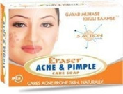 6 x Eraser Acne & Pimple Care Soap Cares Acne Prone Skin Naturally (6 Bars x 75g each) *Ship from UK