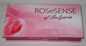 Rose of Bulgaria Gift Set - Two Handmade Soaps 2x45g and Eau De Perfume 2.1ml in Luxurious Gift Box
