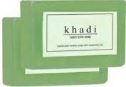 Khadi Neem Tulsi Herbal Soap (3 x 125gms) Handmade Soaps *Ship from UK