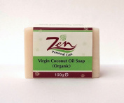Zen Personal Care Virgin Coconut Oil Organic Soap 100gms ea x 2 bars