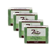 Zen Personal Care Masculine Hygiene Organic Soap 100gms each Pack of 4