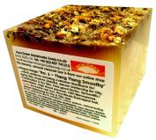 Handmade Natural Ylang Ylang Soap Loaf - Range No.6 - Dry and T Zone Skin Relief / Moisturiser - 400g Money Saver Loaf