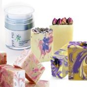 the one Ladies Luxury Savon Artisan Donkey Milk Soap & Organic Hand Cream Gift Set