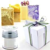 the one Luxury Artisan Donkey Milk Soap & Organic Hand Cream Gift Set