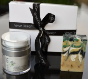 the one MENS Luxury Skin Care & Natural Savon Artisan Organic Handmade French Soap Gift Set 200g